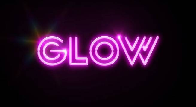 glow logo netflix
