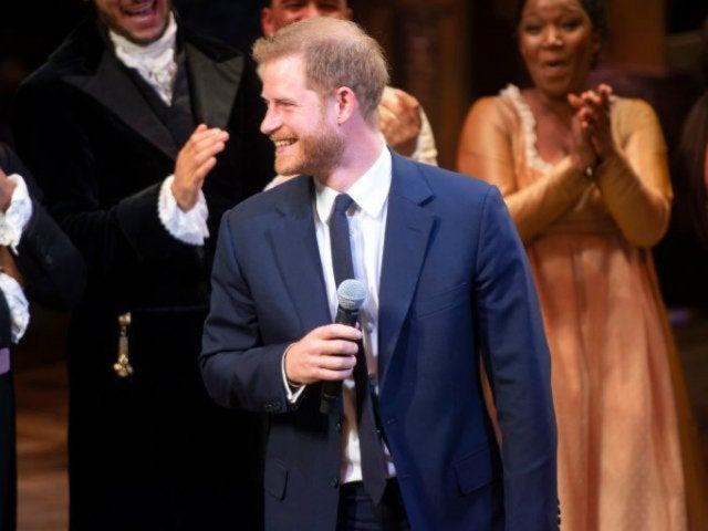 Prince Harry Joins 'Hamilton' Cast to Sing on Stage During Date Night With Meghan Markle