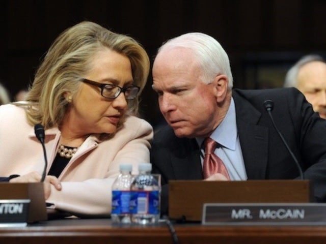 Bill and Hillary Clinton 'Grateful' for Senator John McCain's Leadership