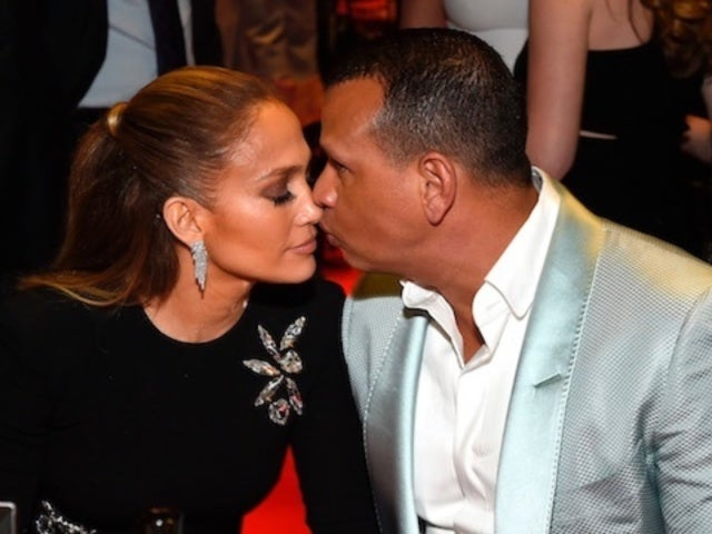 Alex Rodriguez and Jennifer Lopez Are Not Engaged But She's Wearing Ring of 'Significance'
