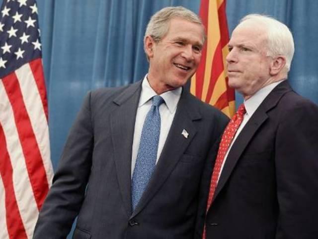 Former Presidents George W. Bush, Jimmy Carter Remember Senator John McCain as a 'Patriot'