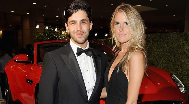 josh peck wife paige o'brien getty images