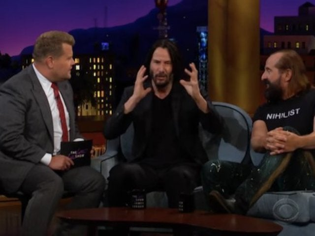 Keanu Reeves Hilariously Reminisces While Watching His 1980s Coca-Cola Commercial Role