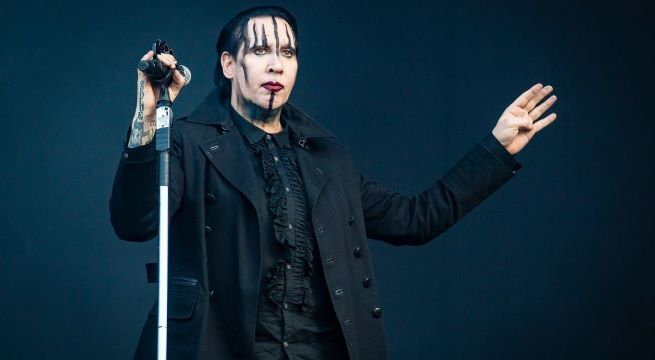marilyn manson getty