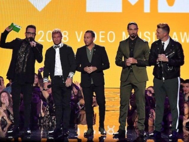 2018 MTV VMAs: Backstreet Boys' AJ McClean Accidentally Curses on Stage