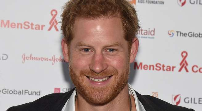 PRince Harry solo getty