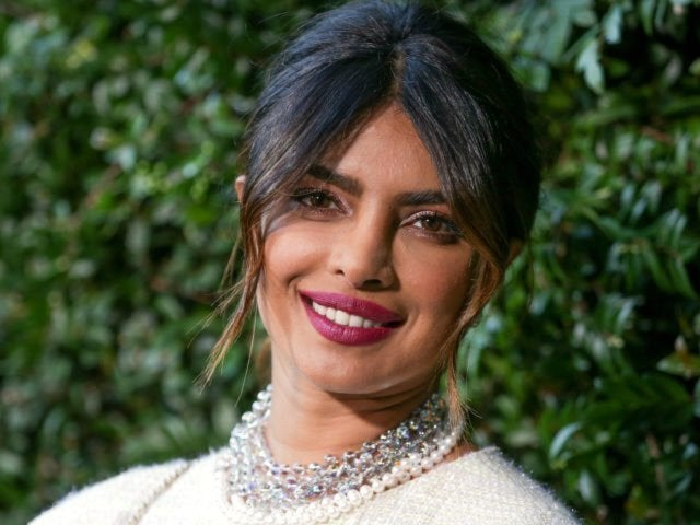 Priyanka Chopra Casually Shows off Her Anything-but-Subtle Engagement Ring From Nick Jonas
