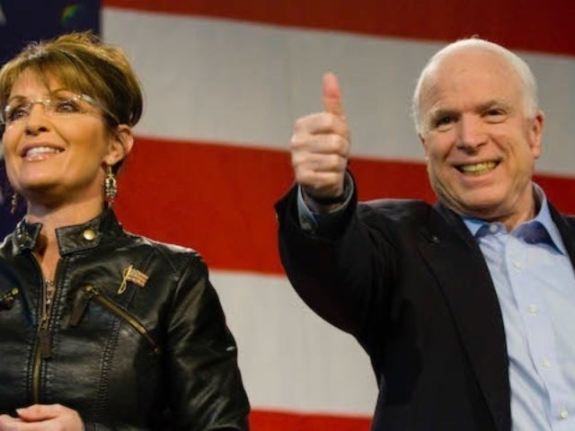 Sarah Palin Mourns Senator John McCain: 'We Lost an American Original'