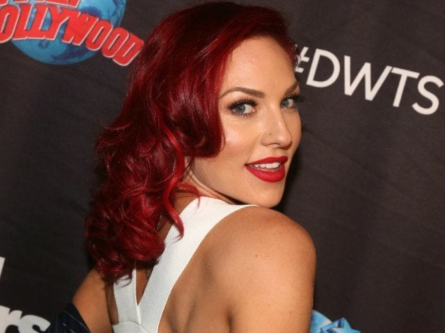 'DWTS' Pro Sharna Burgess Confesses Some of Her Former Partners Have Tried to 'Hook up' With Her