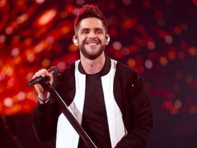Thomas Rhett Wants His Family to Give Back at Christmas