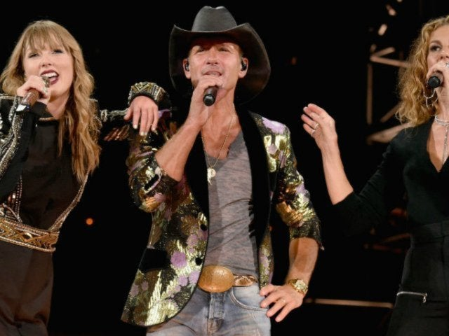 Watch Tim McGraw and Faith Hill Join Taylor Swift Onstage in Nashville