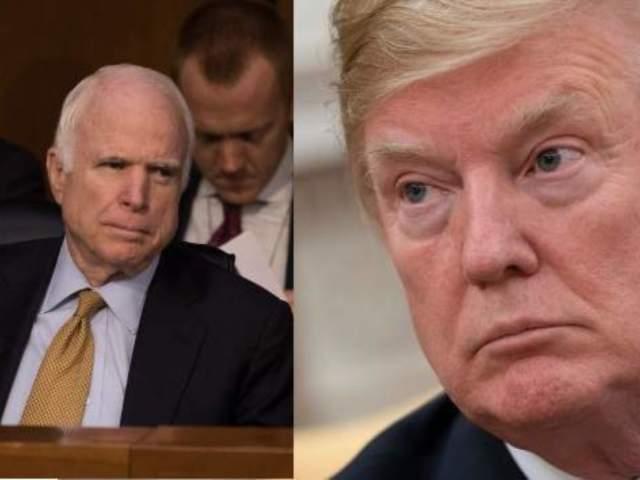 Donald Trump Attacks Late Senator John McCain Over Funeral Arrangements: 'I Didn't Get a Thank You'