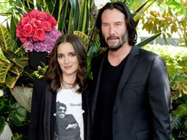 Why Winona Ryder Says She and Keanu Reeves Might Be Married for Real