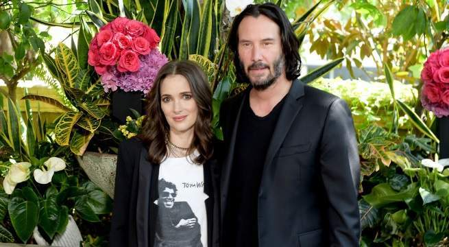 winona ryder keanu reeves getty images