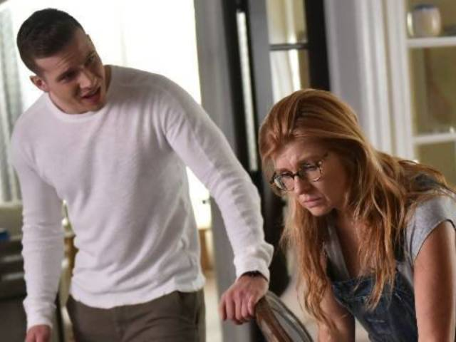 '9-1-1' Star Oliver Stark Has His 'Fingers Crossed' for a Connie Britton Return