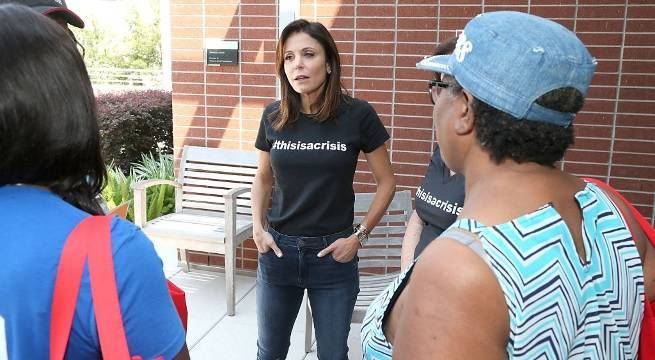bethenny frankel hurricane relief getty images