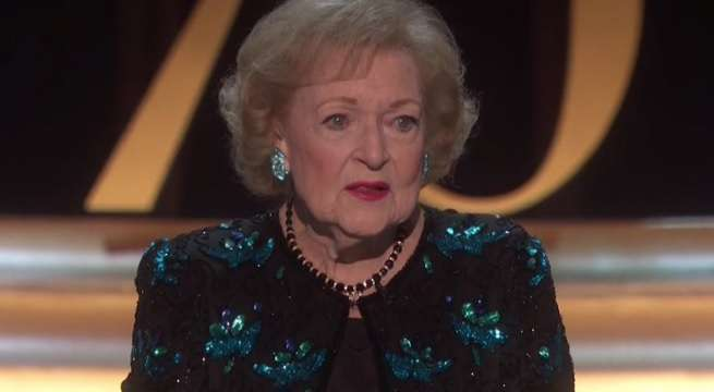 Betty White Emmys