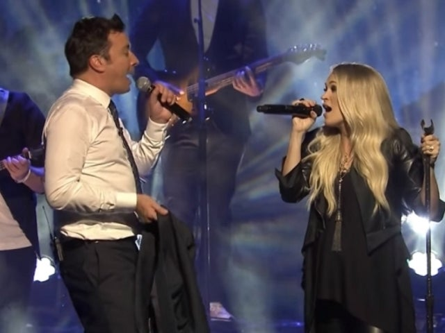 Watch Carrie Underwood and Jimmy Fallon Duet 'Islands in the Stream' on 'The Tonight Show'