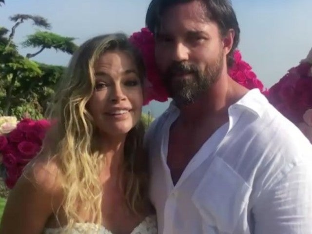Denise Richards Marries Aaron Phypers Days After Engagement in Ceremony for 'RHOBH'