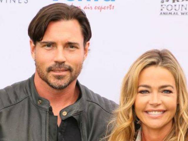 Denise Richards Posts Photo of Hubby Aaron Phypers in Bed, and Fans Definitely Have Thoughts