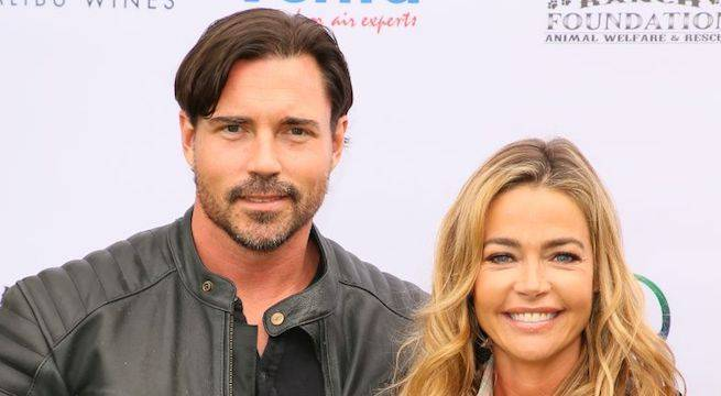 denise-richards-aaron-phypers_getty-JB Lacroix : Contributor