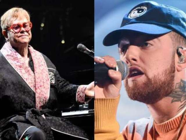 Elton John Performs Touching Tribute to Mac Miller