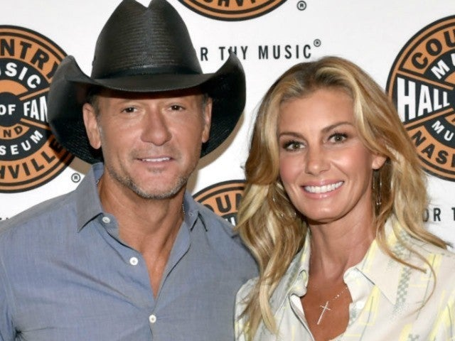Tim McGraw Takes Romantic Birthday Stroll With Wife Faith Hill