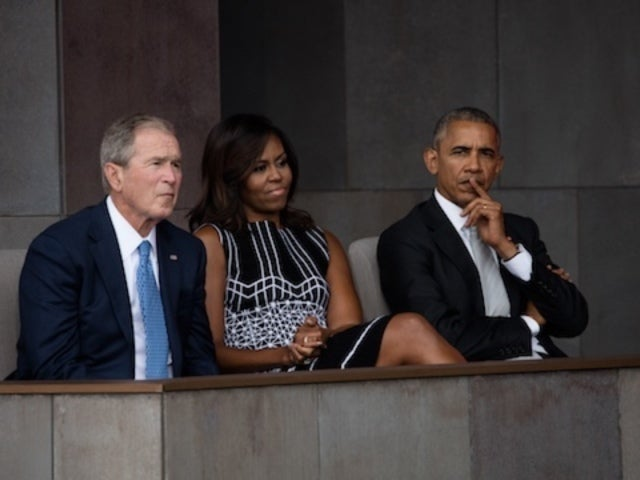Michelle Obama and George W. Bush Go Viral Again Over Sweet Moment at George H.W. Bush's Funeral