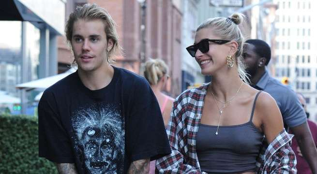 hailey baldwin justin bieber getty images