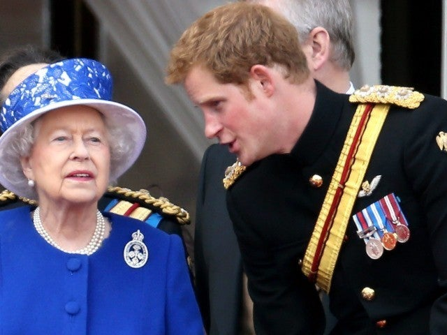 Prince Harry Says Even Queen Elizabeth's Family Members 'Panic' When They Bump Into Her