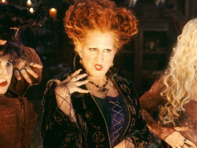 Bette Midler Gives Everyone a Halloween Treat, Joins Freeform's 25th Anniversary 'Hocus Pocus' Special