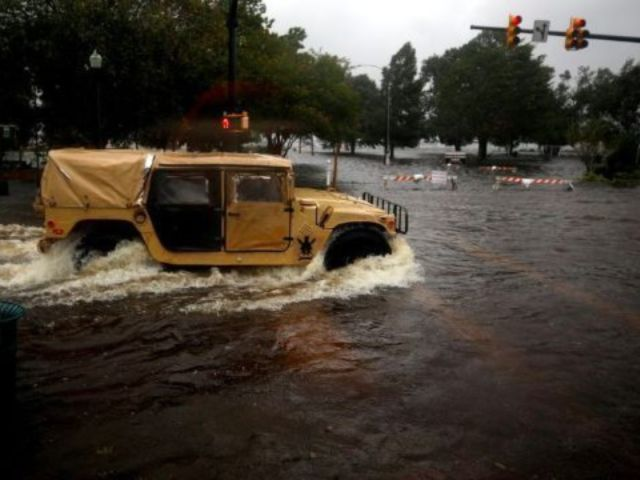 2 Mental Health Patients Drown in Sheriff's Vehicle After Being Swept Into Hurricane Florence Floodwater