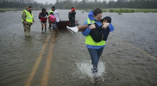 hurricane florence september 14 getty images