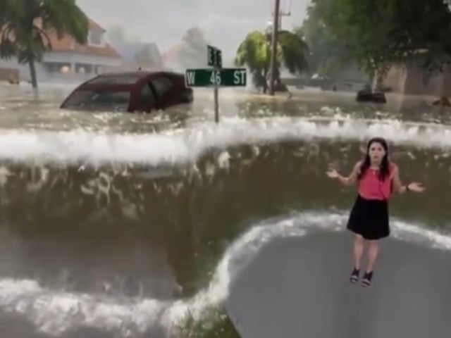 The Weather Channel Gives Startling Video Visual of How Deadly Hurricane Florence Storm Surge Could Be