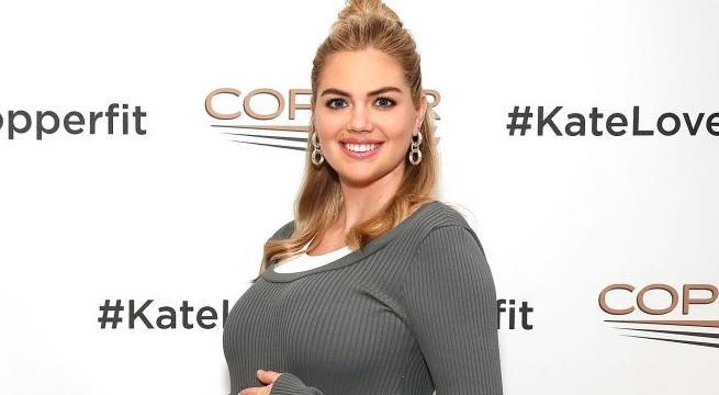 kate upton getty images copper fit crop