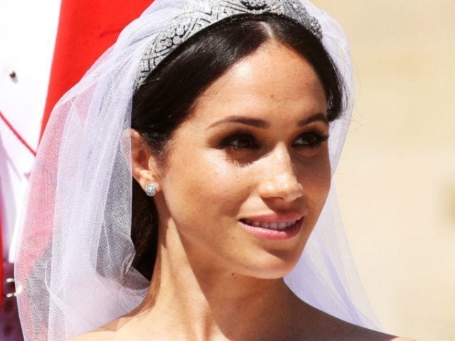 Watch the Special Moment Meghan Markle Saw Her Wedding Dress Before Marrying Prince Harry