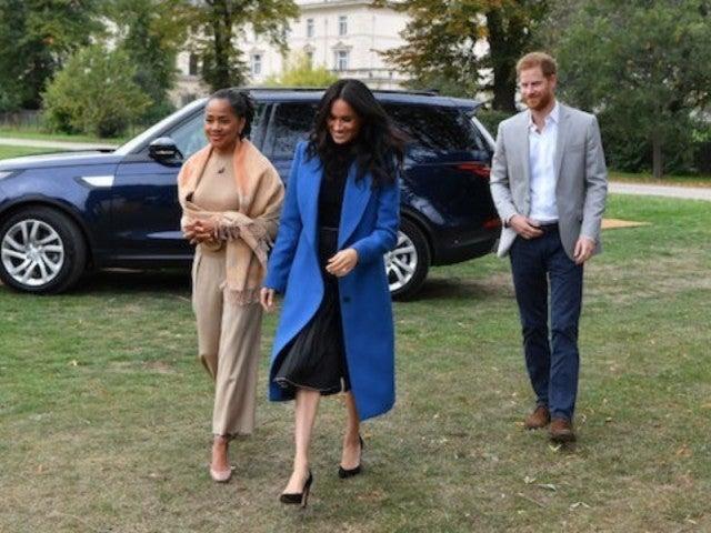Meghan Markle's Mom Doria Attends Kensington Palace Event Celebrating Duchess's Cookbook Release
