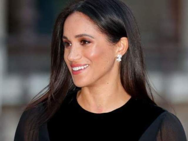 Meghan Markle Honors Princess Diana With Shining Jewelry Tribute in First Appearance Since Announcing Pregnancy