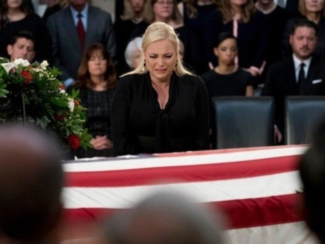 Meghan McCain Photographed Saying Final Farewell to Father John McCain in Emotional Service