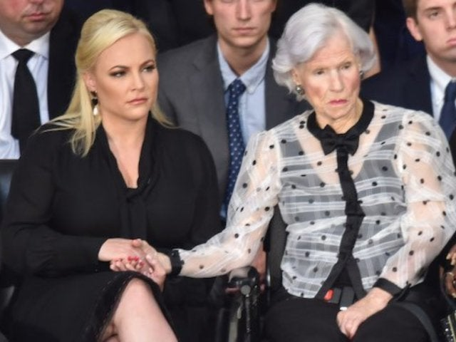 John McCain Funeral: Meghan McCain Takes Jab at Donald Trump During Eulogy