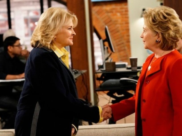 How 'Murphy Brown' Kept Hillary Clinton Cameo a Surprise