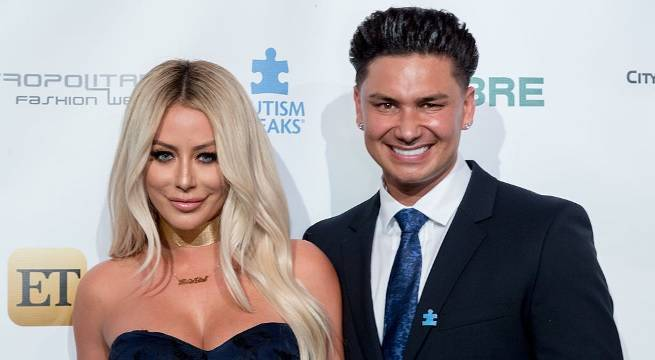 pauly d aubrey o'day getty images