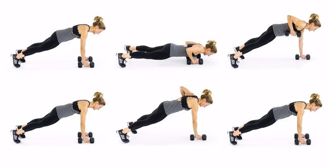 Push-up-Row