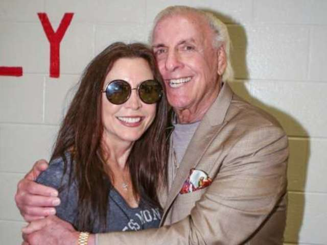 Ric Flair Weds Longtime Fiancee Wendy Barlow