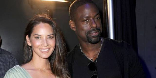 sterling k brown olivia munn getty images