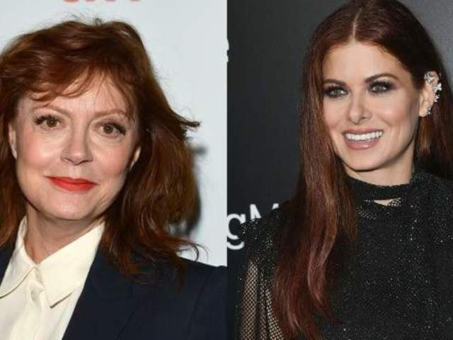 Debra Messing Says She'd Rather Be Stuck in Elevator With Donald Trump Than Susan Sarandon