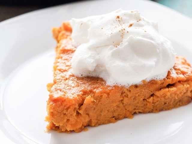 Recipe: Crustless Sweet Potato Pie
