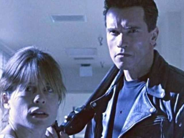 Arnold Schwarzenegger Reunites With Linda Hamilton on Set of New 'Terminator' Movie