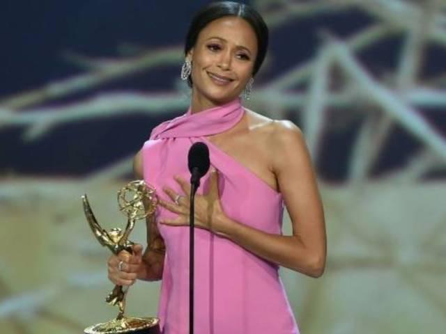 Emmys 2018: 'Westworld' Star Thandie Newton Curses During Acceptance Speech