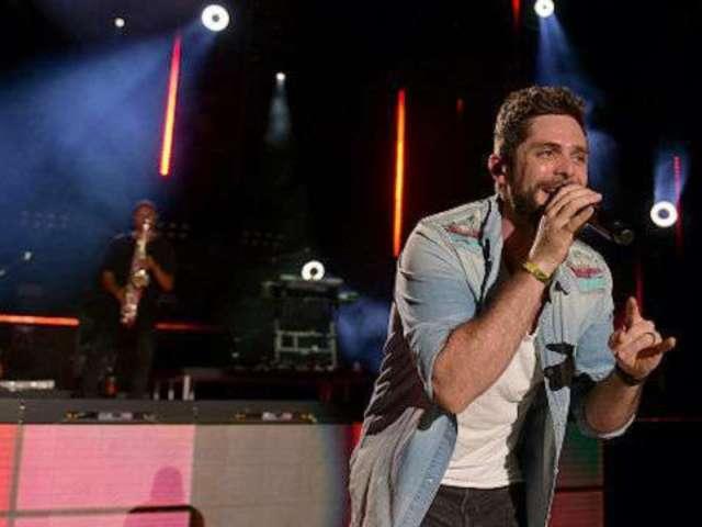 Thomas Rhett Chills Out on Tour, Thanks to Kenny Chesney